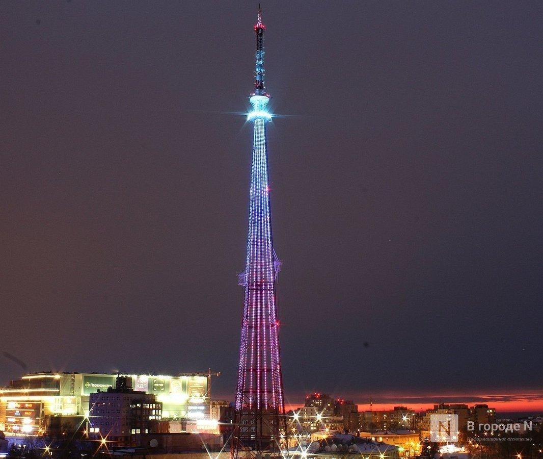 Нижегородская телебашня превратится в рекламную конструкцию - фото 1