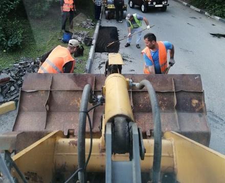 Дорогу на улице Ошарской отремонтировали по просьбам жителей