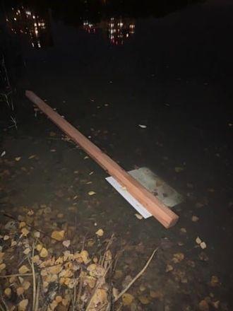 Неизвестные раскурочили часть Дождевого сада в Автозаводском районе - фото 2