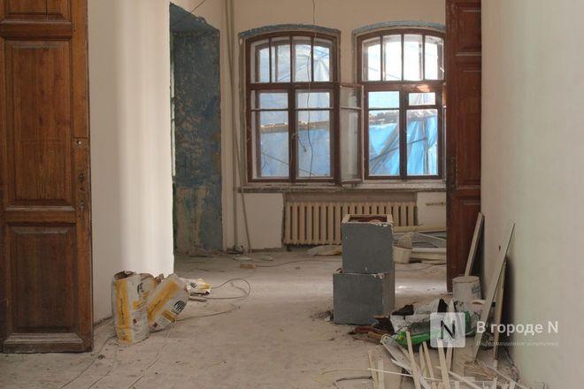Реставрация Дворца творчества в Нижнем Новгороде выполнена на 10% - фото 8