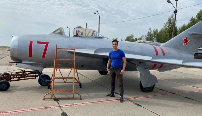 Студенты политеха возродили легендарный МиГ-17 - фото 1